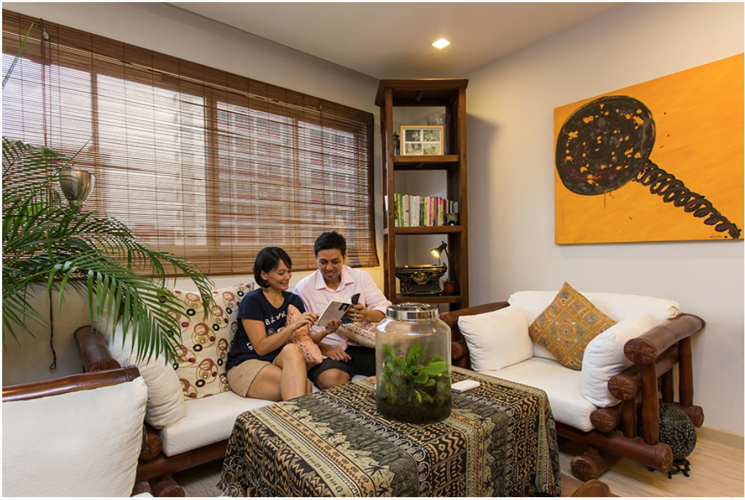 House tour bamm and christina 39 s balinese style hdb home - Balinese home decorating ideas ...