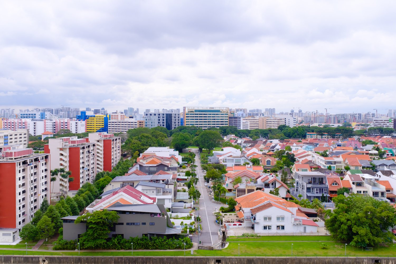 a singapore permanent resident is restricted from buying a terrace house