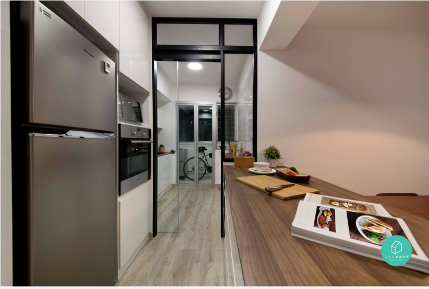Space Enhancing Hacks For Small Homes The Open Kitchen Concept