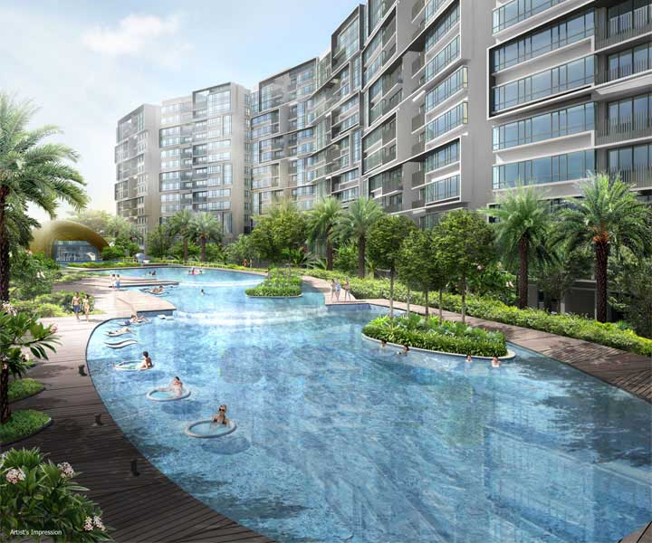 Parc Olympia is situated in the Eastern part of Singapore
