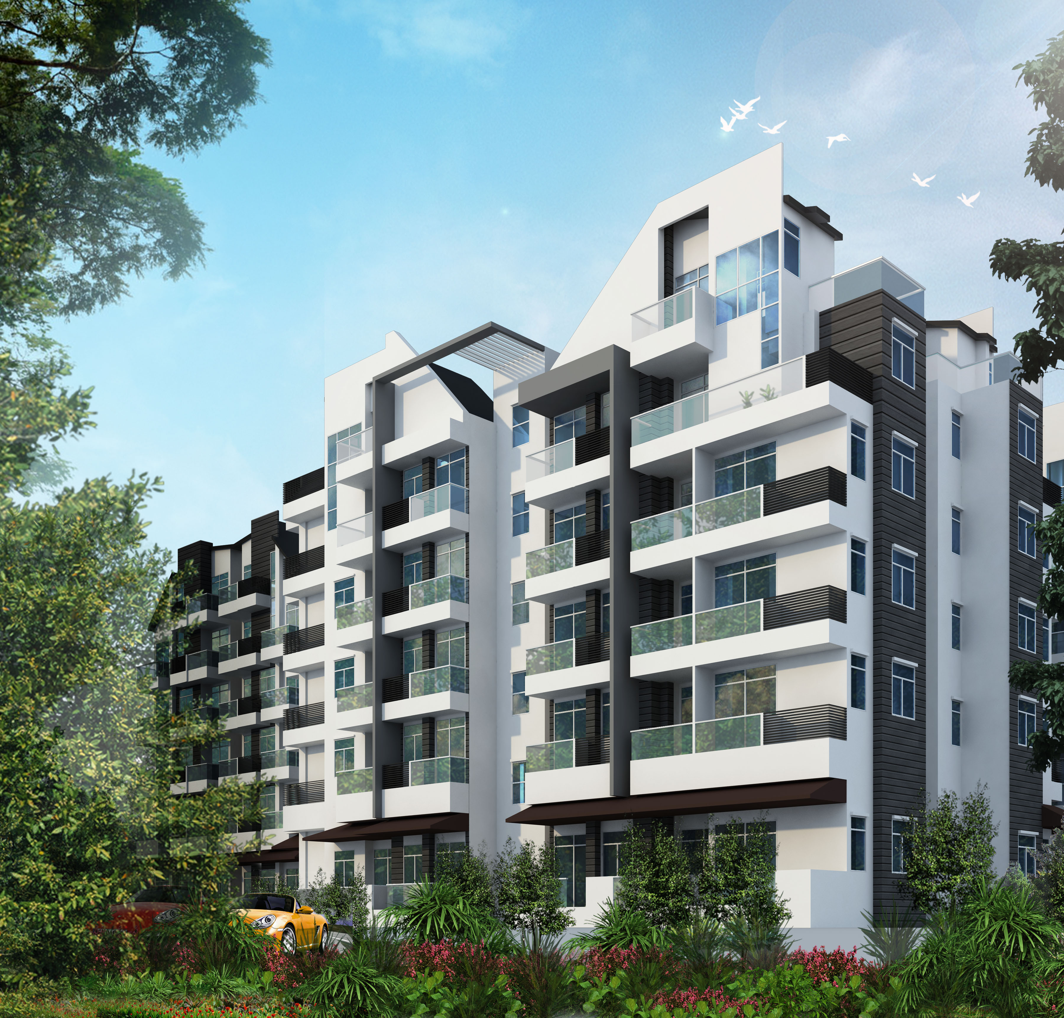 Suites@East Coast is situated along Upper East Coast road, close to Bedok Central