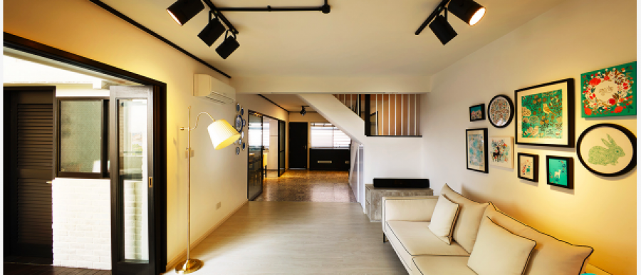 lightened sofa room, renovation packages