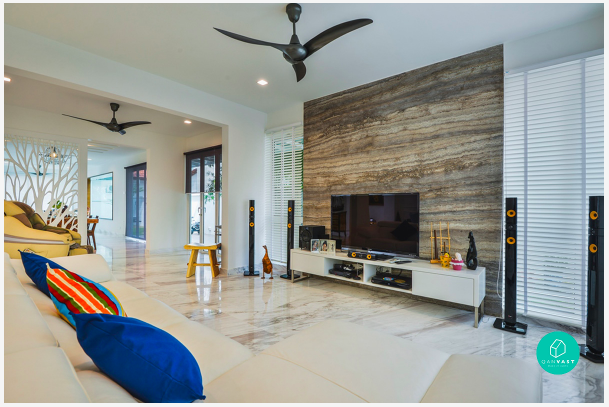 how to choose an interior designer or contractor to renovate your living room.