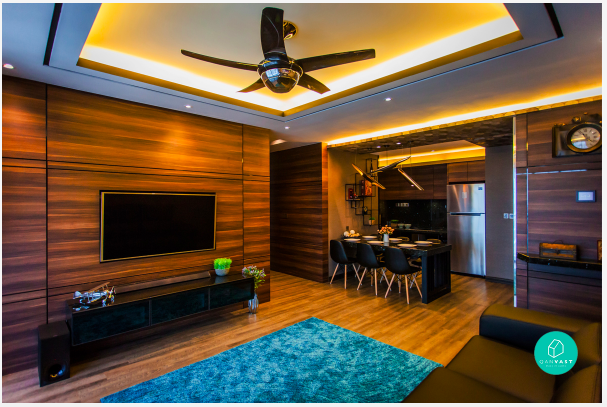 hoose an interior designer or contractor to renovate your entertainment room.