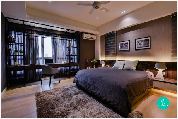 how to choose an interior designer or contractor to renovate your master bedroom.