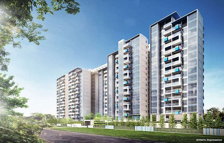 The Santorini is a condominium located in Tampines Avenue 10 in District 18