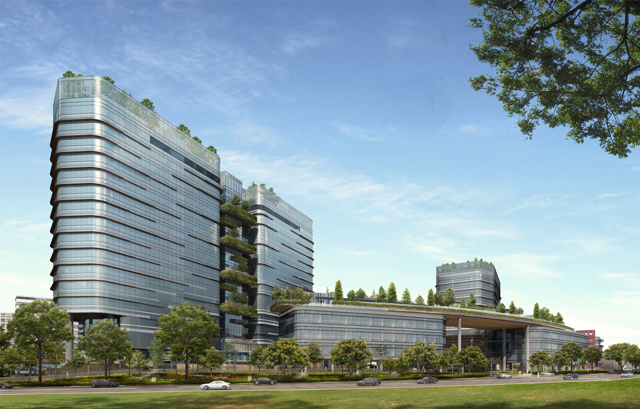 Woods Square, an upcoming mixed-use development is one of the first office spaces in Woodlands and a potential smart property investment in the future