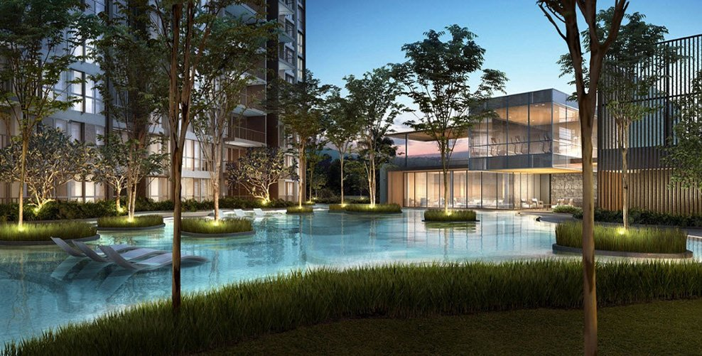 Some themed condos look to nature for inspiration. Modelled after the forest, Bellewoods an executive condo near to Admiralty MRT Station