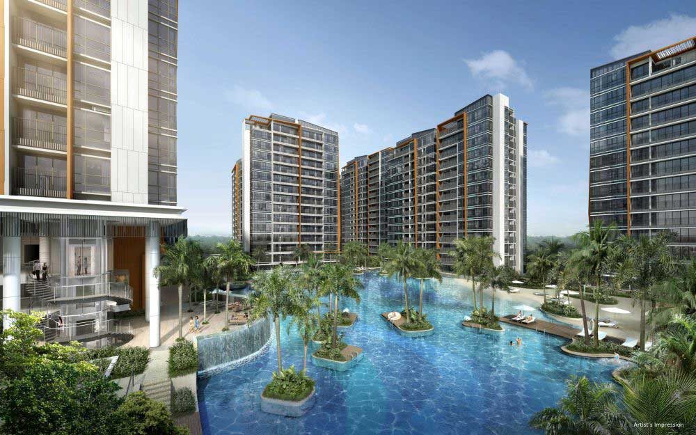 Inspired by the world's best resorts, Coco Palms is a 99-year leasehold condominium located in Pasir Ris