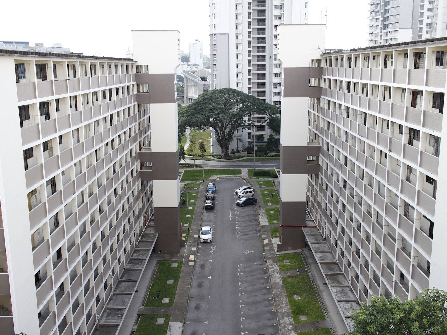 The abandoned Tanglin Halt SERS flats still have a certain charm to them