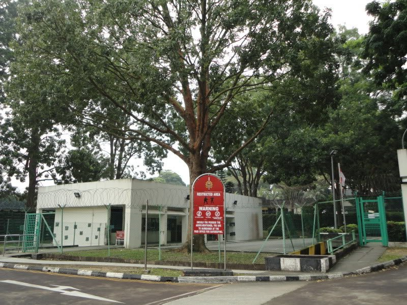 Ayer Rajah Camp is tucked away in a corner of Portsdown Road and near to the current MediaCorp premises
