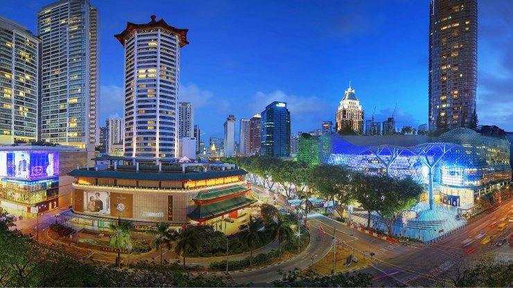 Orchard Road has the distinction of being one of the premier shopping destinations in the world