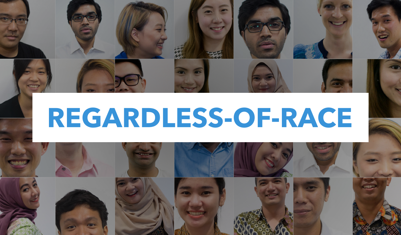 Make a stand against rental racial discrimination with 99.co's regardless of race campaign