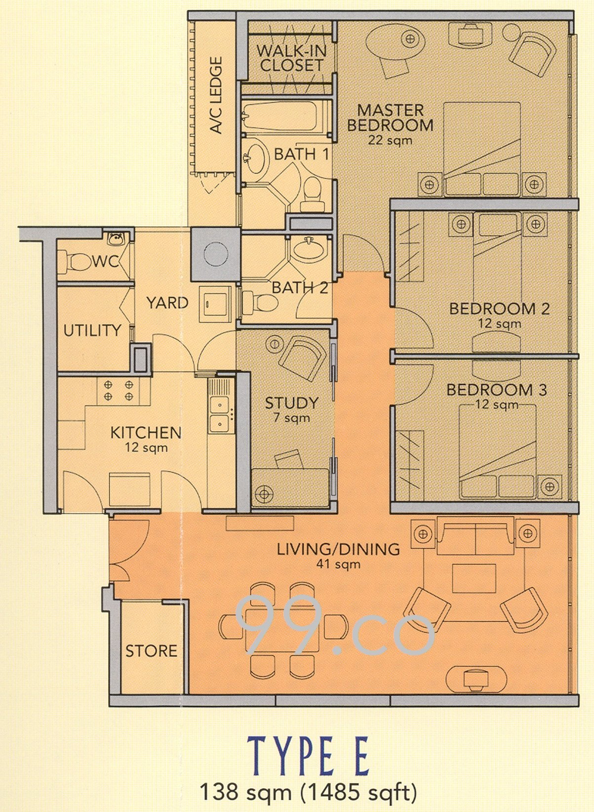 99 Co Guides How To Read Your Property S Floor Plan