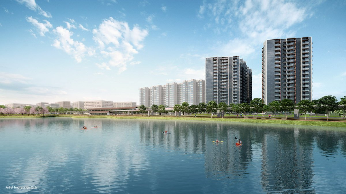 Strategically located next to the Jurong Lake, Lake Grande is the newest condo to be launched