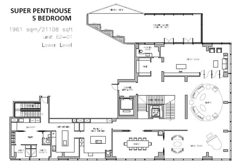 5 ridiculous luxury property floor plans you\'ve got to see to believe