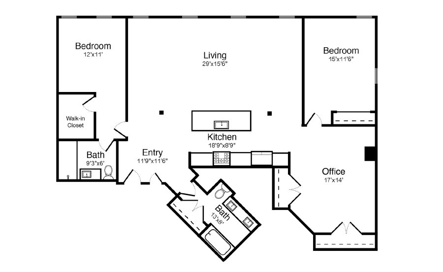 Guides how to read your property 39 s floor plan for Floor plans with pictures