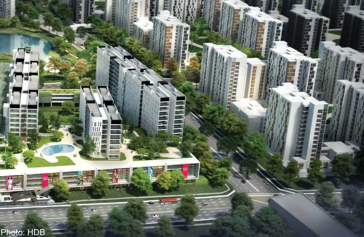 Bidadari is currently the most popular public housing estate