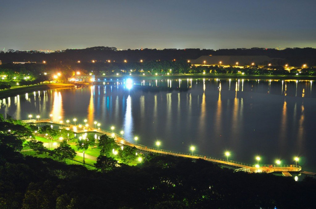 Bedok Reservoir attracts a lot of sports enthusiasts
