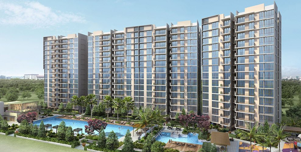 Treasure Crest is a 99-years leasehold EC located at Anchorvale Crescent in District 19