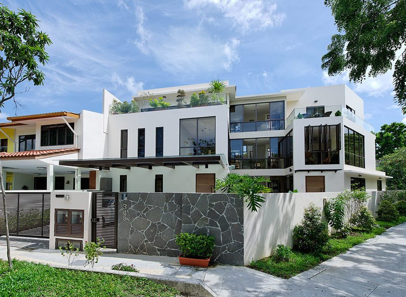 Landed home sales rise to three year high in q3 2016 for Terrace house singapore