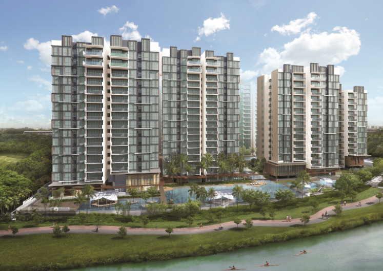 The Terrace EC is the only executive condominium to be directly facing directly Punggol Waterway.
