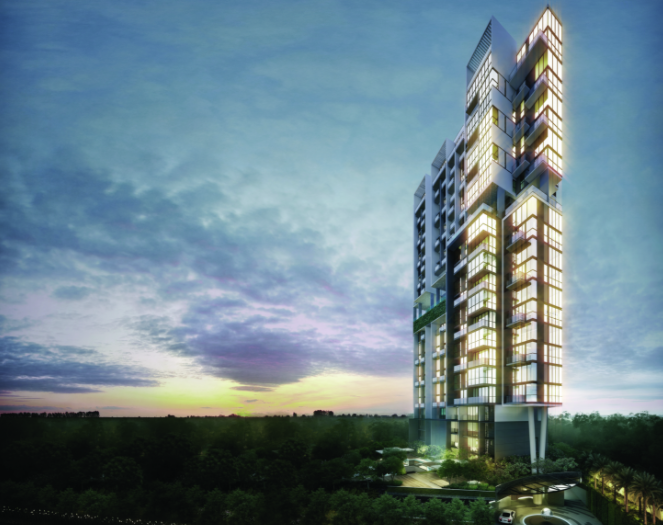 The Fulcrum is the most recent condo development by CEL Development