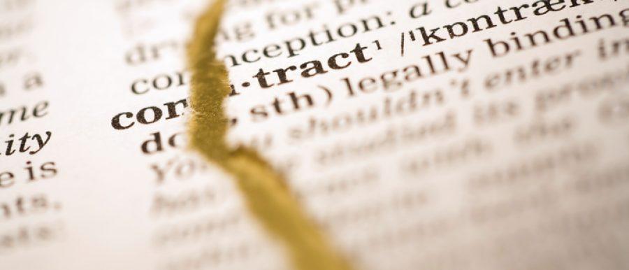 breaking lease-rental agreement