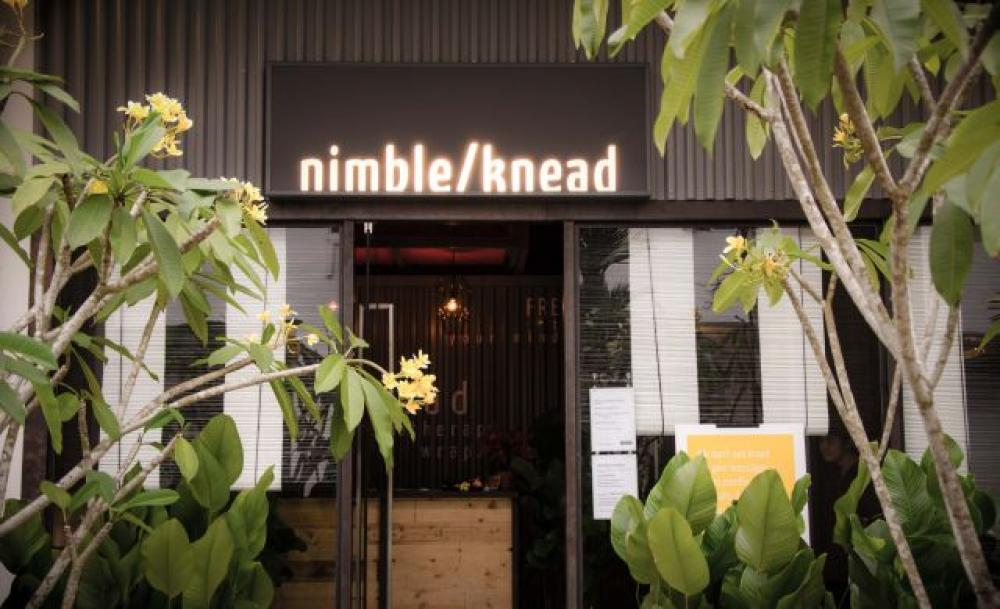 The exterior of Nimble/Knead