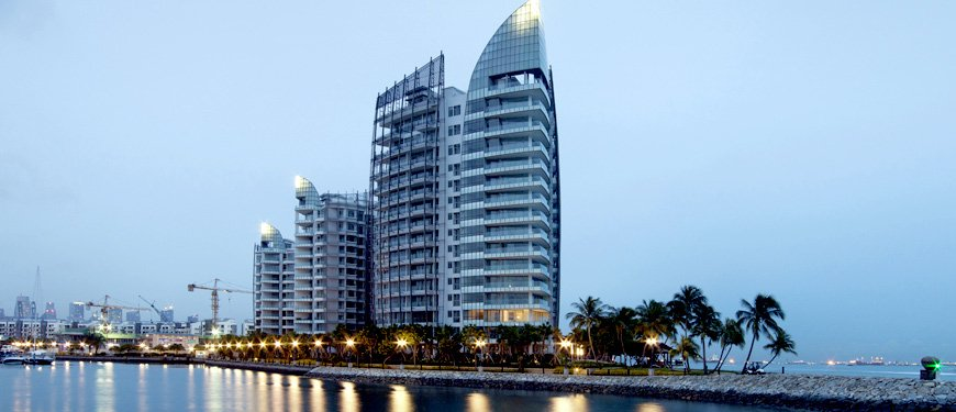 The Oceanfront @ Sentosa Cove is a 99-year Leasehold Condominium located at Ocean Drive