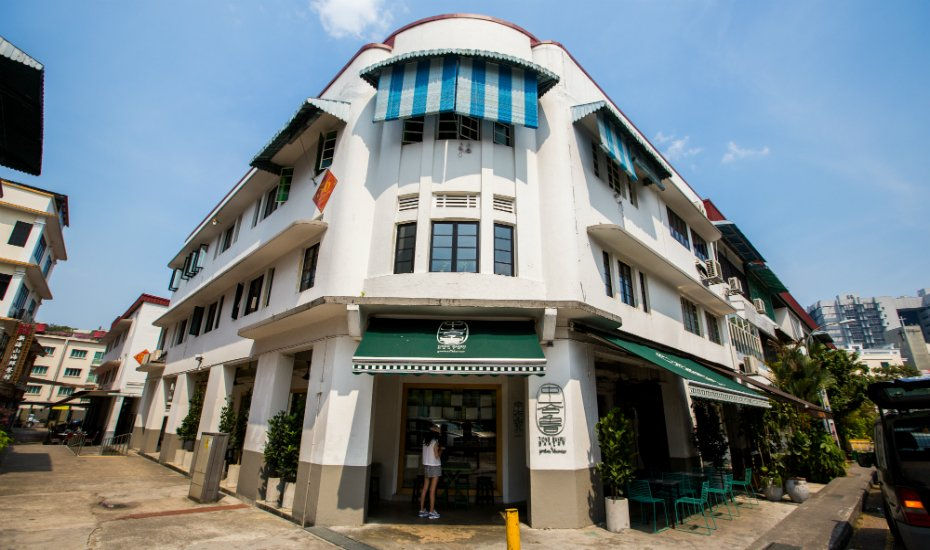 Tiong Bahru, otherwise known as the ultimate Singaporean hipster enclave