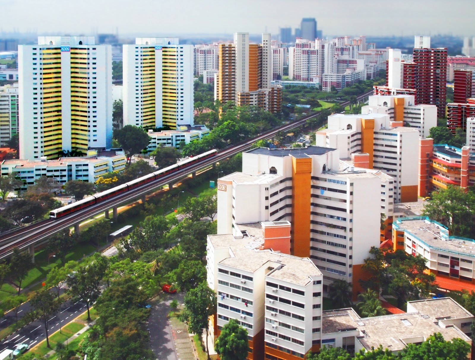 We'd gladly get lost in the picturesque neighbourhood of Bukit Batok