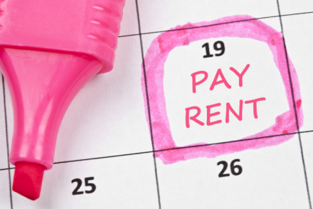 rent payments-paying rent
