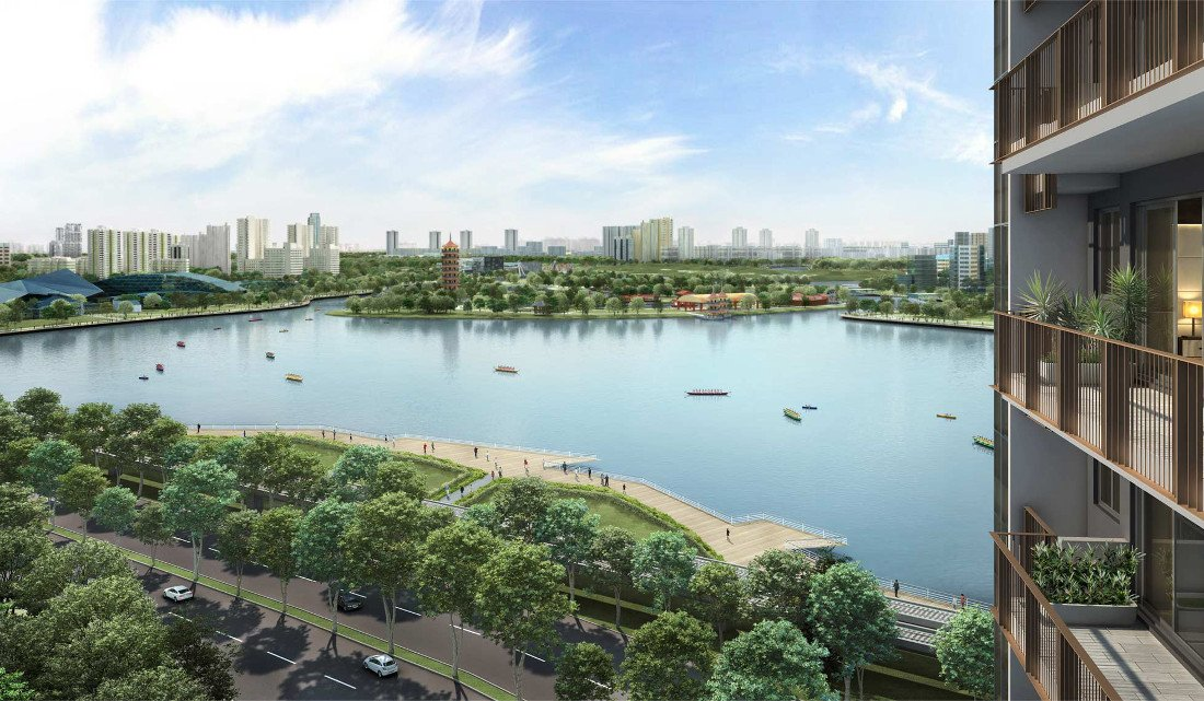 Lake grande was one of the new condos that saw brisk sales activity the week of its launch