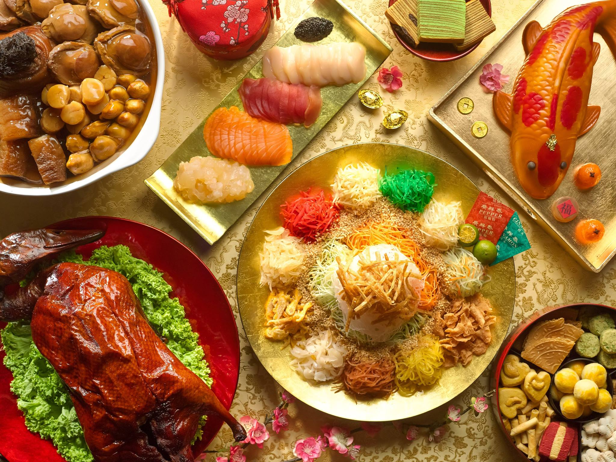 your reunion dinner should be nothing short of a feast - Chinese New Year Dinner