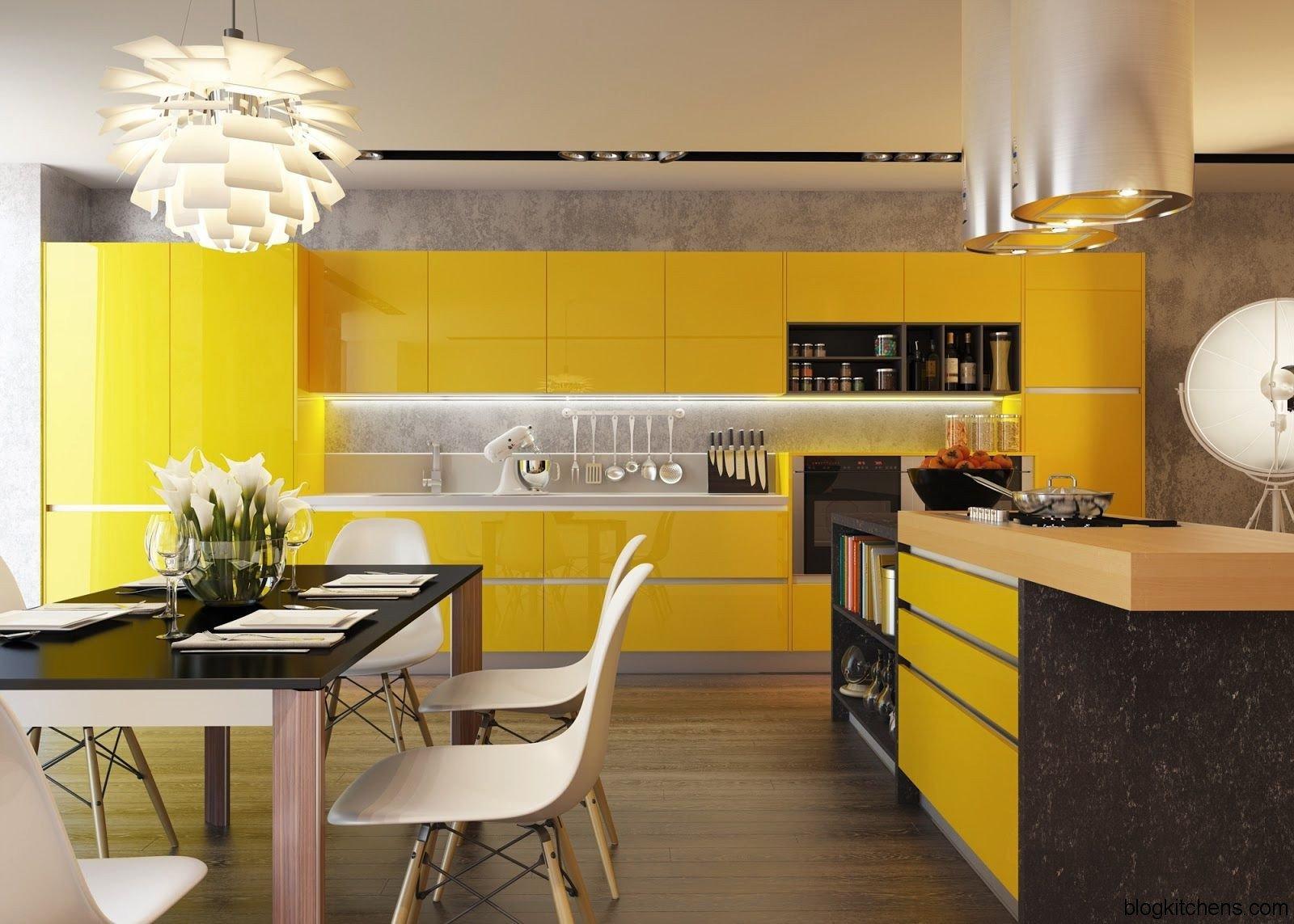 Дизайн и цветовая гамма кухни