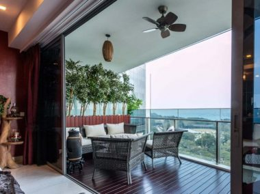 Private Enclosed Spaces Balcony