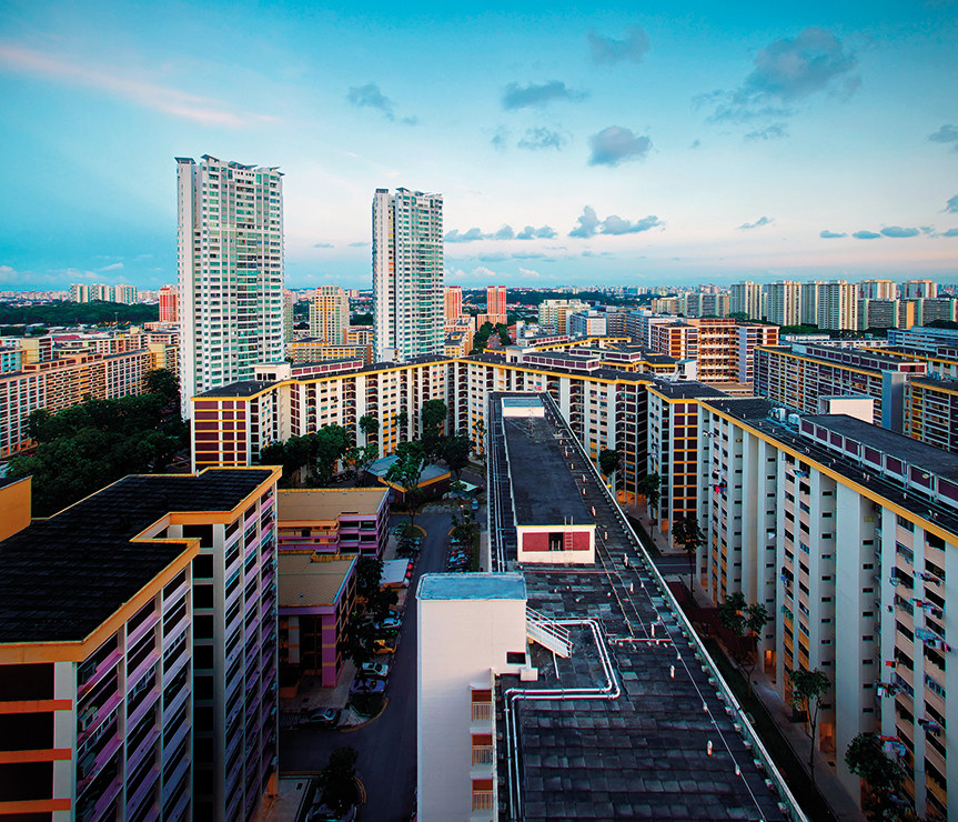 Growing up in a HDB estate is a uniquely Singaporean experience