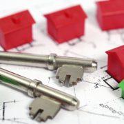 House buying. House keys