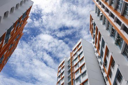 flats, buildings