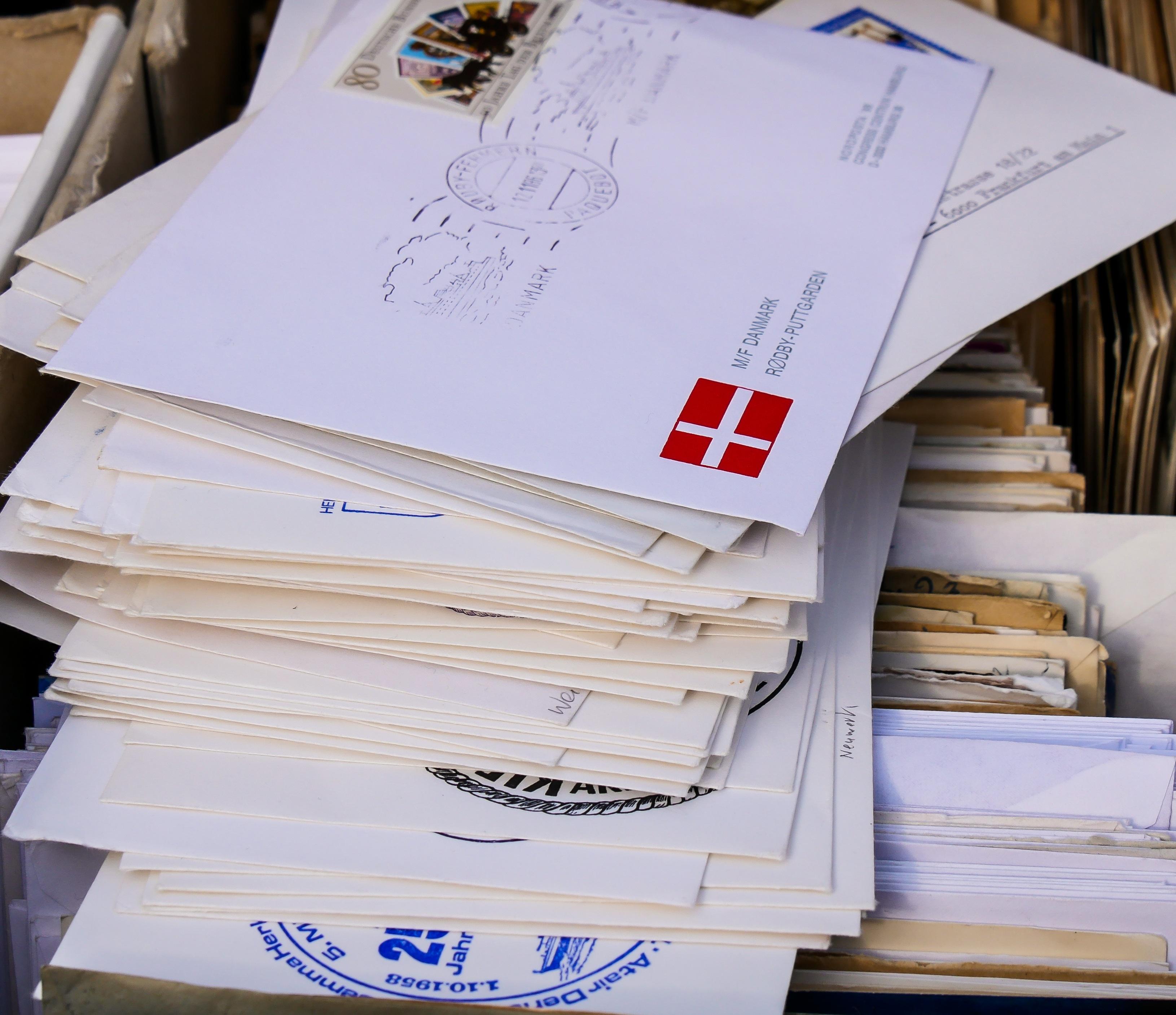 declutter mail