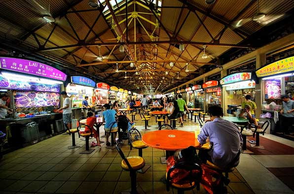 Singaporean hawker centres that are so good it is worth tolerating the sweltering heat