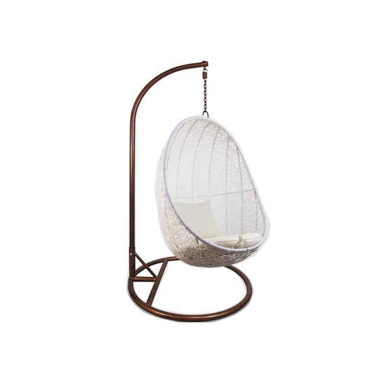 White Cocoon Swing Chair