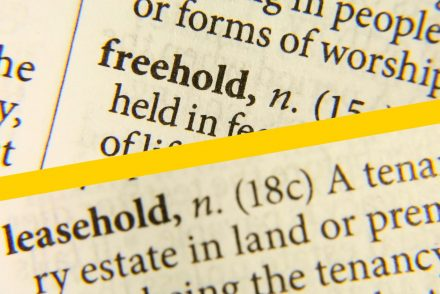 leasehold freehold
