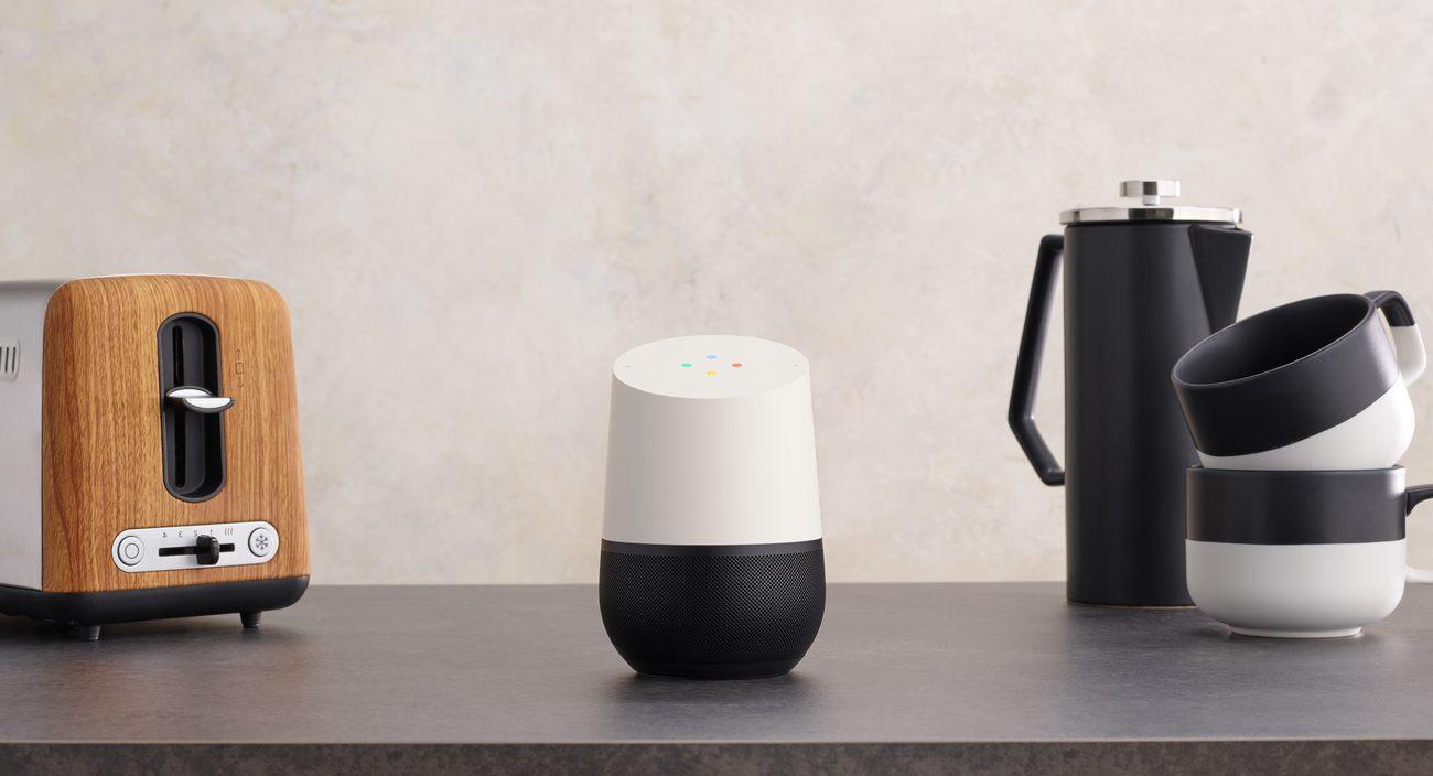 Google Home smart music speaker