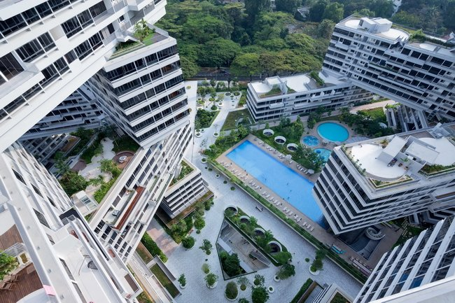 award winning condo interlace
