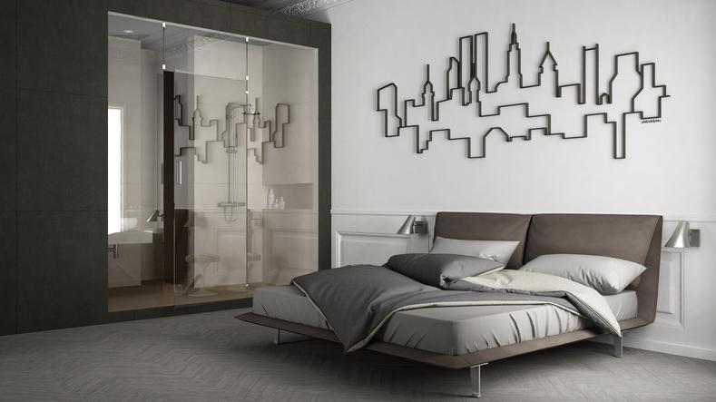 Bedroom's interior design