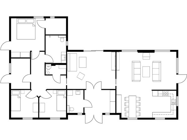feng shui renter layout