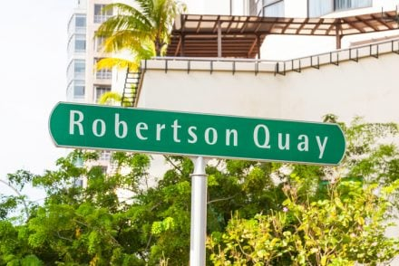 Places to live in robertson quay, Singapore