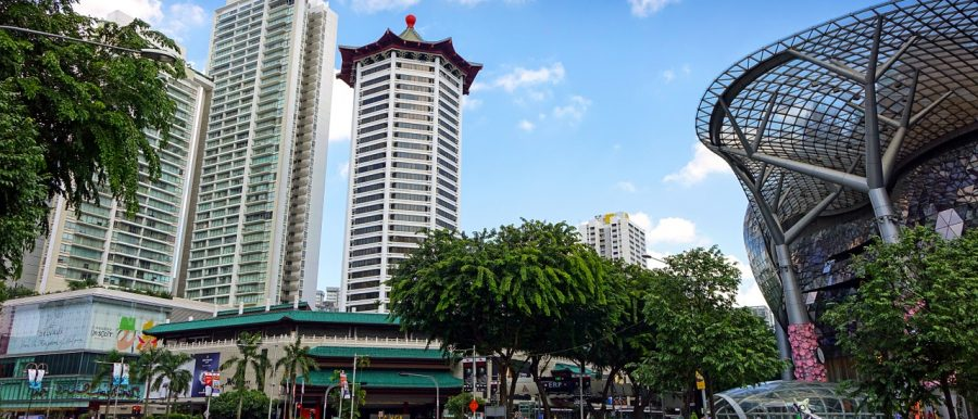 The ritzy and much vaunted Orchard Road